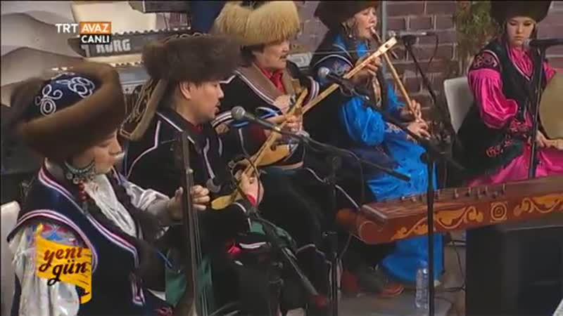 Aylanıs Hakas Müzik Grubu - 1. Performans - Yeni Gün - TRT Avaz. Хакасская музыка