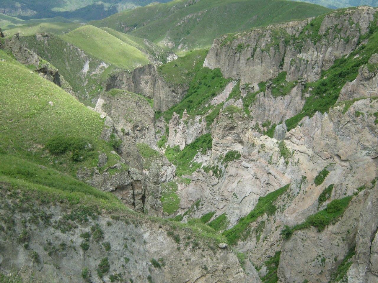Каньон около Хнацах