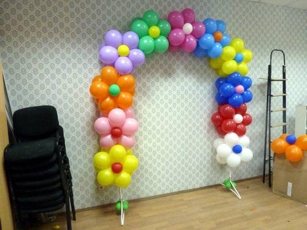 Арка для воздушных шаров как сделать