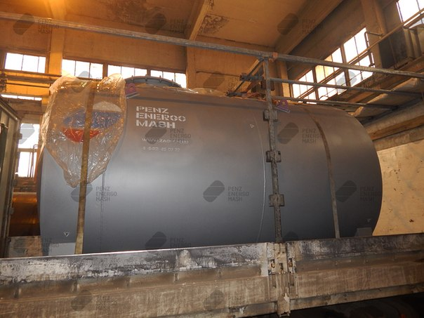 Отгрузка резервуара РГС Н1-15