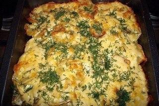 Картошка по-французски с мясом G4rHe9Kyl4M