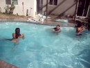 Pool Party Fight