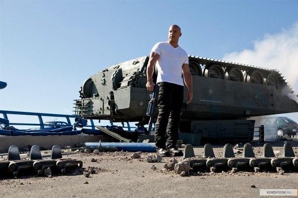 Торетто вместе с командой остановил целый танк