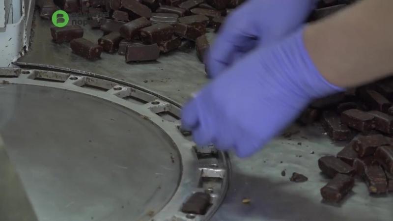 Новый цех по производству драже и конфет открылся сегодня на Вологодской кондитерской фабрике
