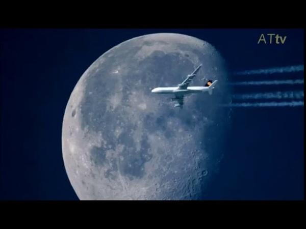 Ученые убедились что Луна над Плоской Землей существует в виде голограммы или псевдо объекта