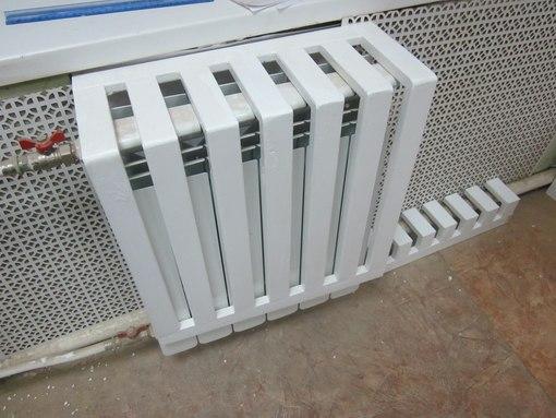 Решетки на радиатор отопления своими руками