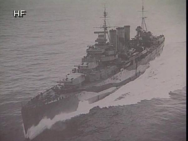 Линкор Гнейзенау флагманский корабль Кригсмарине