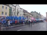Россия встречает Первомай