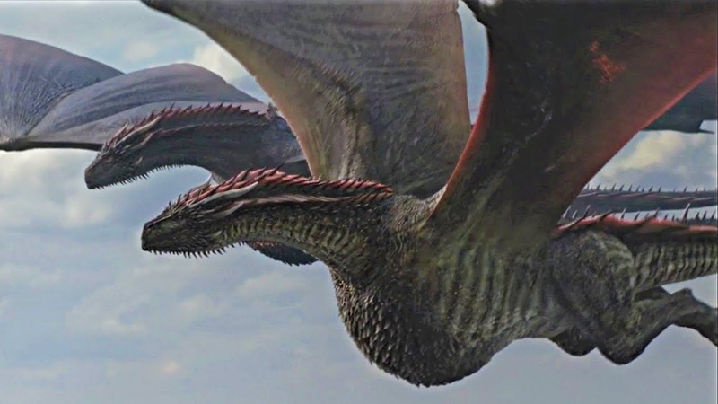 Euron Kills Rhaegal - Dragon Death Scene | Game of Thrones Season 8 Episode 4