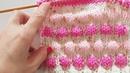 Bonbon Modeli / Knit Bubble stitch