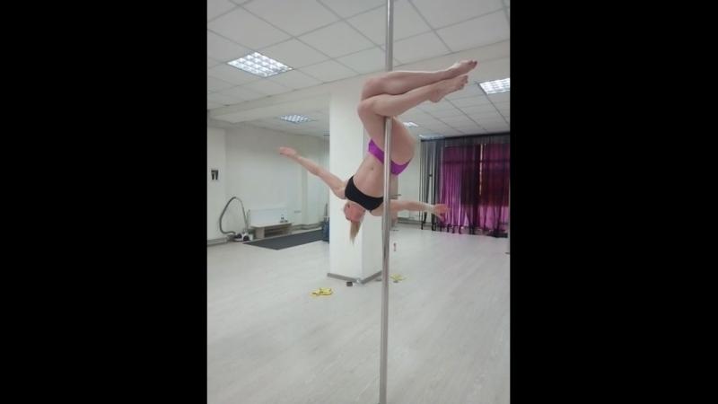 на тренировке Кристины Косминской