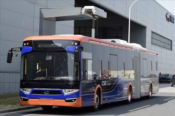 В Китае создали электроавтобус с супер-быстрой зарядкой
