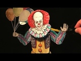 How to Make It (Pennywise) the Dancing Clown Puppet 1990 Version - IT TV Series