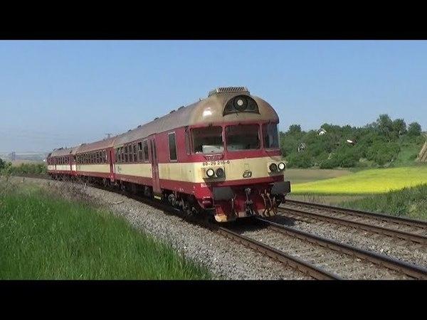 Vlaky Kyjov a okolí 4.5.2018