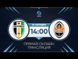 Александрия - Шахтер Донецк. Прямой эфир