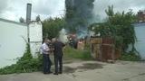 Пожар на Леваде