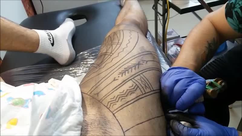 БЕЗ эскизов - БЕЗ прорисовок! Rinline TattooFreehand 2019