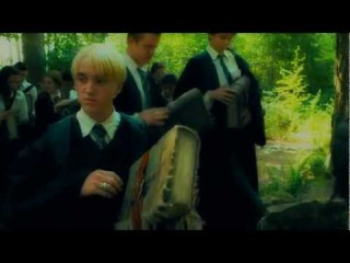 --Draco, Ginny and Harry -- Are you gonna me my girl --
