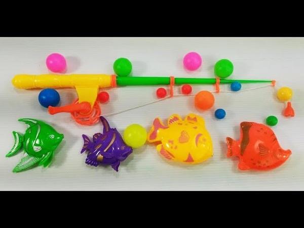 Fishing Toys for Kids - Fishing Game for Children - Fishing Videos for Children
