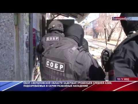Свердловский ОБОП задержал группу грабителей