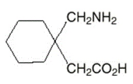 NEURONTIN® (габапентин) - структурная формула иллюстрации