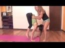 Ashtanga Yoga: Handstand from Chair Pose or Utkatasana | yogadn