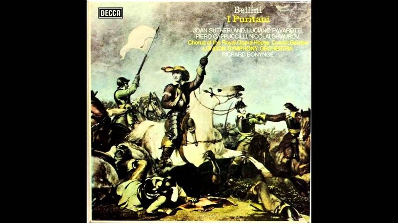Bellini - I Puritani - Da quel dì ch'io ti mirai (Joan Sutherland, Luciano Pavarotti) 1973