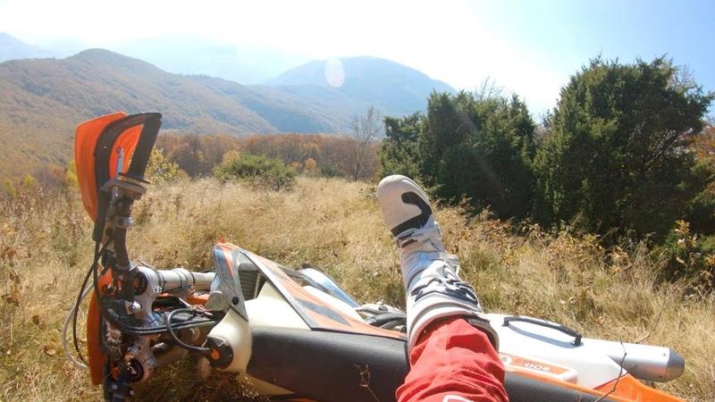 Hill Climb practice in Romania.