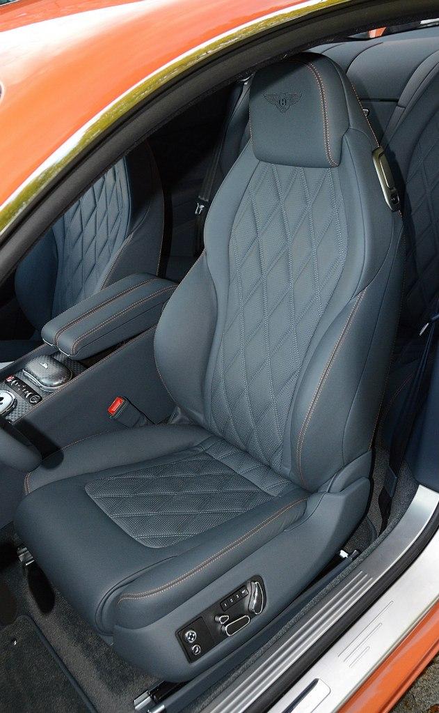 Кожа в Bentley 2013