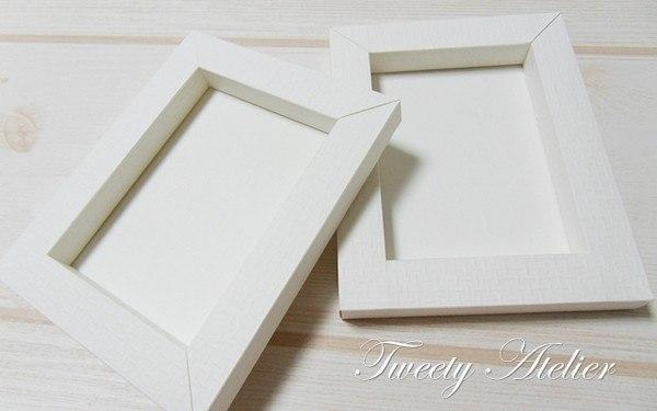 Рама из бумаги для картины своими руками из