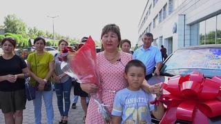 G-TIME CORPORATION 08.08.2018 г. Вручение Wolksvagen Polo партнеру из Караганды