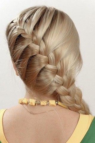 Фото красивых причесок на длинные волосы своими