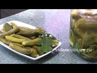Рецепт - Солёные огурцы от видеокулинария.рф Бабушка Эмма