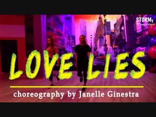 "Ksusha & maya | khalid, normani - ""love lies"" | dance cover | choreography by janelle ginestra"