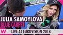 Julia Samoylova Russia @ Eurovision 2018 Red / Blue Carpet Opening Ceremony