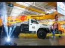 Автокран и художники Палеха реализовали новый проект к 65-летнему юбилею завода