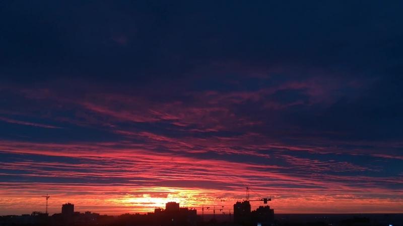 Осеннее небо небо закат sunset nizhnynovgorod nn sky