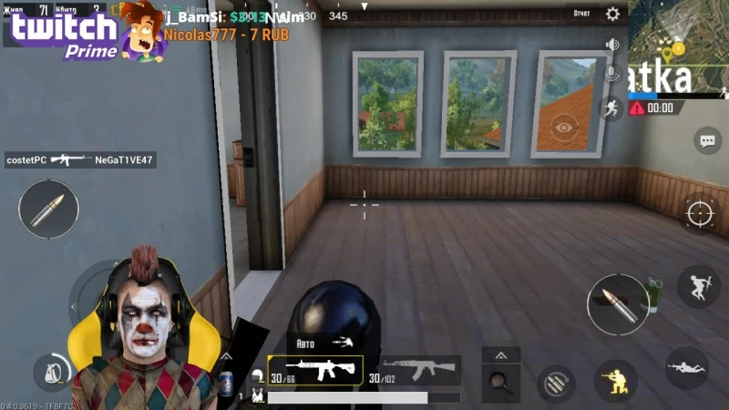 Pubg Mobile Читы Hack Kill with 1 shot Aim Endless ammo Fast shooting Speedhack
