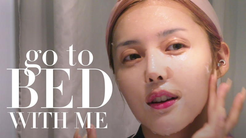 Pony's Nighttime Skin Care Routine 포니 스킨케어 루틴 | Go To Bed With Me | Harper's BAZAAR