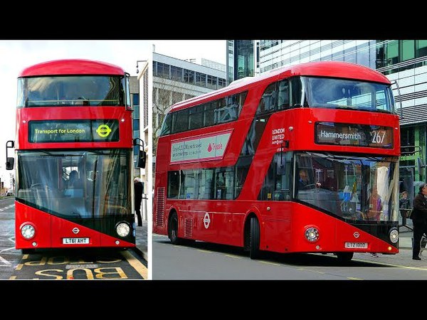 The Final New Routemaster Bus Has Now Arrived