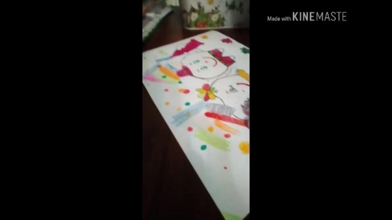 Рисует Чукова Мария Владимировна, 5 лет.
