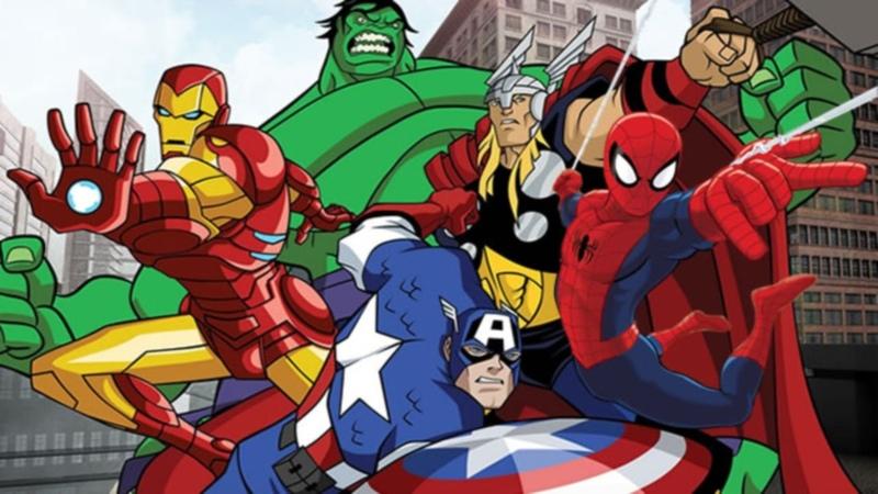Мстители: Величайшие герои Земли - Побег. Часть первая - Сезон 1, Серия 1   Marvel