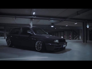 Bagged VW Golf 3