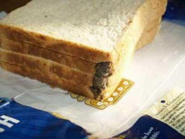 Мышь в хлебе