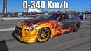1600HP Nissan GT-R R35 GTT Lucifer GoshaTurboTech 0-340 km/h