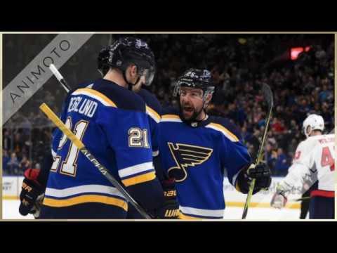 St Louis Blues vs Minnesota Wild Live NHL Ice Hockey 11 Nov 2018