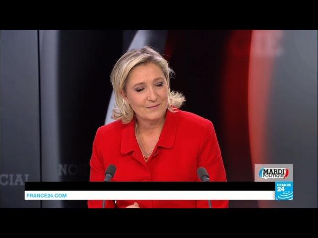 Marine Le Pen : Les réfugiés, on les renvoie chez eux