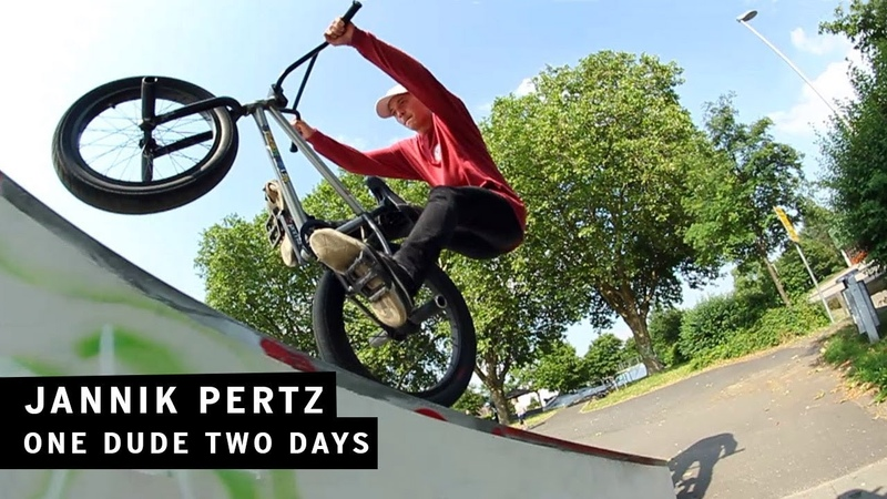 One Dude Two Days Jannik Pertz | freedombmx