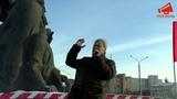 Сергей Митрохин на митинге в защиту киноцентра Соловей в Москве