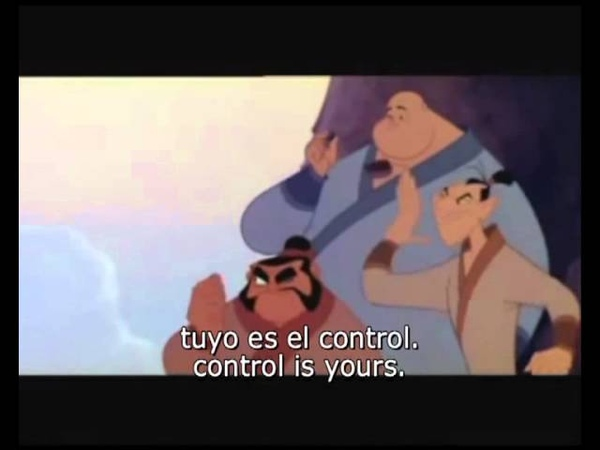 I'll Make a Man out of You (European Spanish) Subs Trans